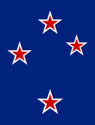 Southern Cross (NZ flag detail)