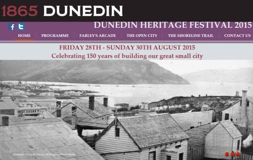 1865 Dunedin - Dunedin Heritage Festival 2015 [screenshot] 1