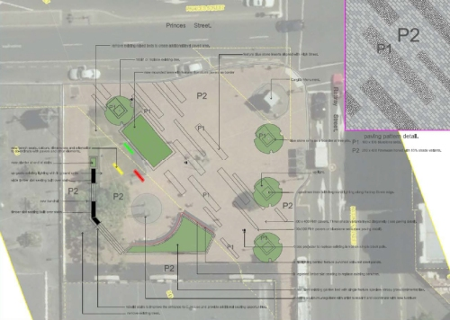 DCC proposal for Exchange - site plan