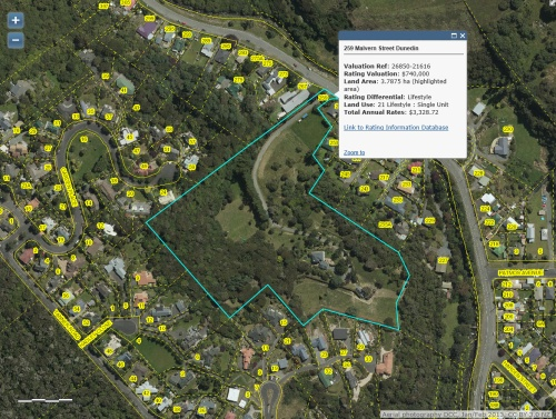 DCC Webmap - 259 Malvern Street (JanFeb 2015)