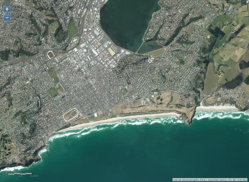 DCC Webmap - South Dunedin JanFeb 2013 1a