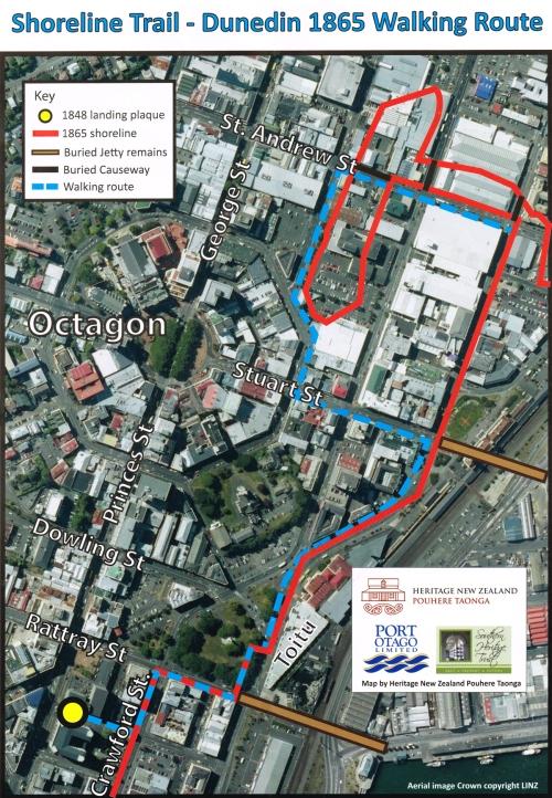 Shoreline Walking Trail - Dunedin 1865 Walking Route 2.1