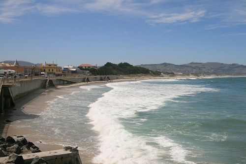 St Clair Beach, Dunedin [wikimedia.org]