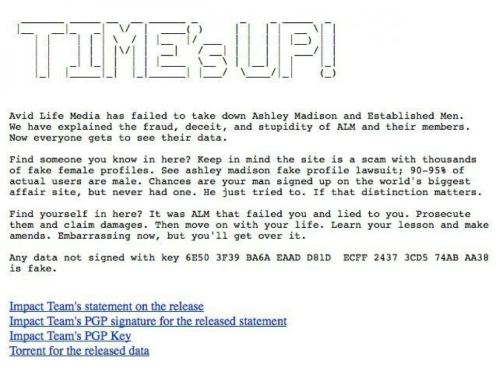 Times Up - Impact Team