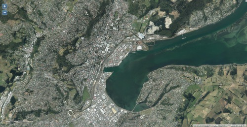 DCC Webmap - Upper Harbour Central Dunedin JanFeb 2013