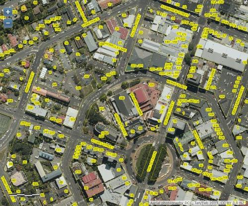 DCC Webmap - Upper Octagon Moray Place Filleul Street