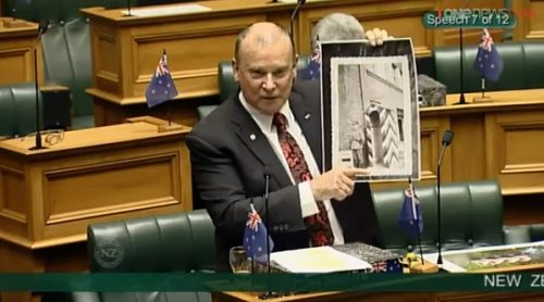 Denis O'Rourke  NZ First 2 [Parliament TV]