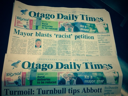 ODT 15.9.15 front page (versions)