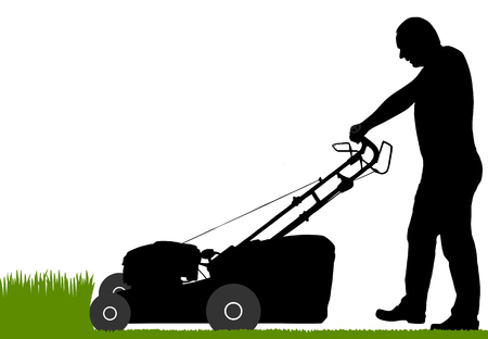 man-with-lawn-mower [lantapix via 123rf.com] 1