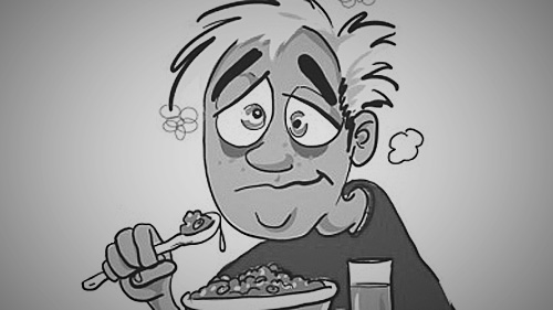 Dave breakfast gruel - Warcraft-All-Nighter-Gamer [cartoonaday.com] tweaked (1)