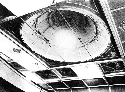 His Majesty's Theatre. Ceiling of theatre. Hocken Collections.
