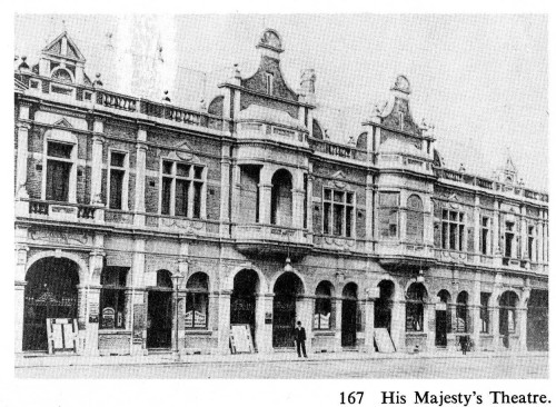 His Majesty's Theatre. Hardwicke Knight, Dunedin Then (Dunedin, 1974) p164