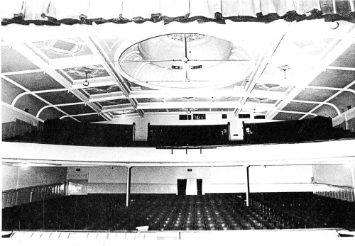 His Majesty's Theatre. View from stage. Hocken Collections.