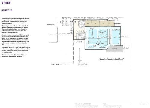 Mosgiel Pool - Brief Study 2B