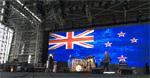 NZ Flag at Fleetwood Mac 18.11.15 Dunedin (1)