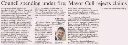 ODT 7.11.15 Letter to editor Dickie p30