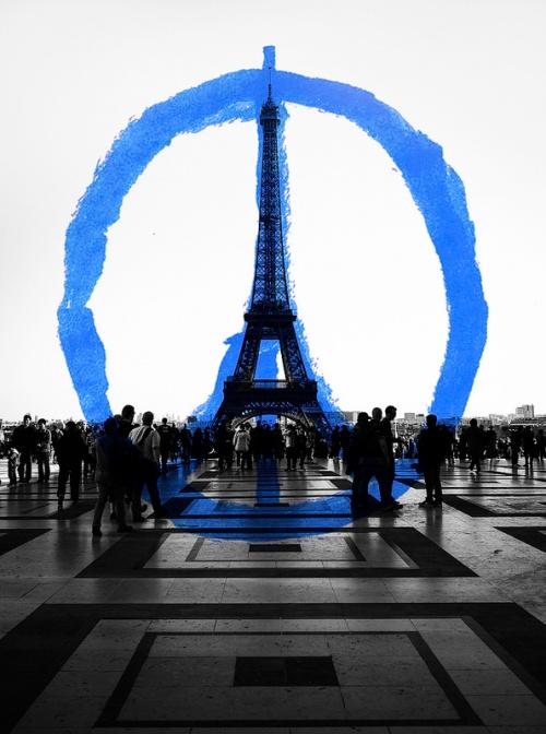Peace for Paris [gokicker.com]