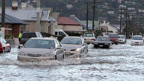 South Dunedin flood June 2015 [stuff.co.nz]