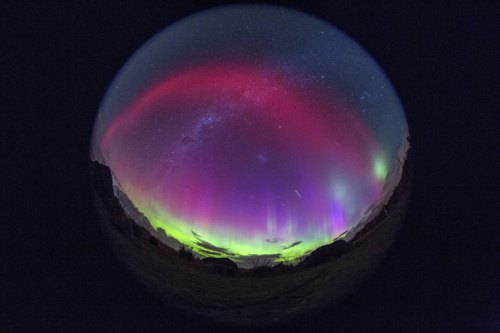 Southern Sky Aurora 8.40am. Photo by Ian Griffin