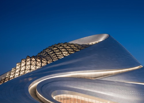 Harbin Opera House by MAD Architects_Beijing - exterior 2 [photo Adam Mørk]