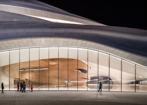Harbin Opera House by MAD Architects_Beijing - exterior 3 [photo Hufton + Crow]
