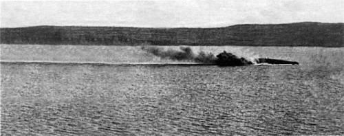 Picture 5 French battleship Bouvet sinking in the Dardanelles