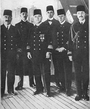 Picture 6 Admiral Souchon and his German officers