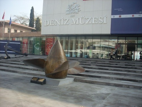 Picture 7 Propeller of the Yavuz at Istanbul Maritime Museum