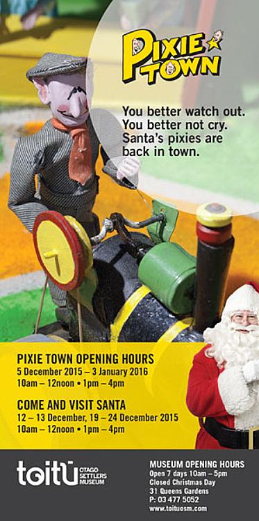Pixie Town - Toitu advert [ODT Online 12.12.15] screenshot
