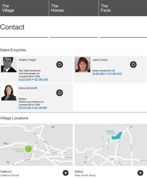 Yaldhurst Village contact information [villagelife.co.nz]