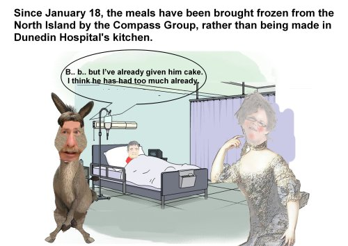 Kathy Cull and Richard in hospital-view [Douglas Field]