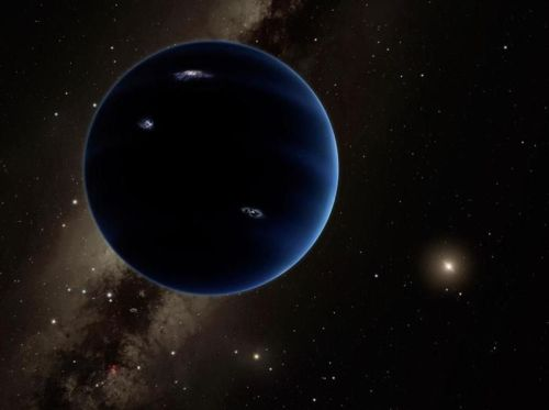 Planet Nine [Image by Caltech-R. Hurt (IPAC)]