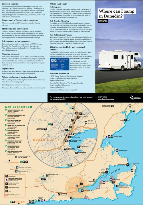 DCC freedom camping brochure