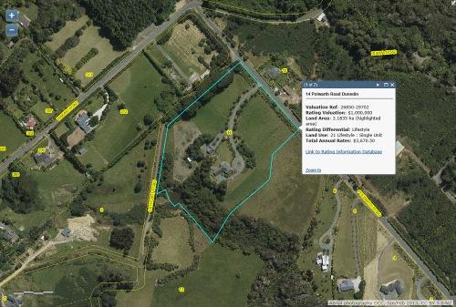 DCC Webmap - 14 Polwarth Road, Dunedin JanFeb2013
