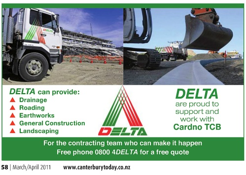 Delta advert p58 MarApr2011 canterburytoday.co.nz