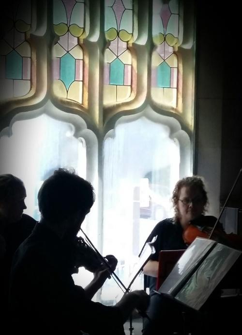 DSO string quartet 2016-02-27 16  [Image by EJ Kerr]