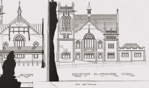 Hanover Street Baptist Church - Hanover St elevation 20160227_152701