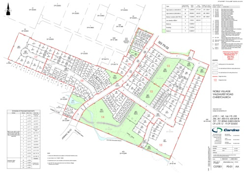 NIL Yaldhurst Site Plan Dec2009 PS-01