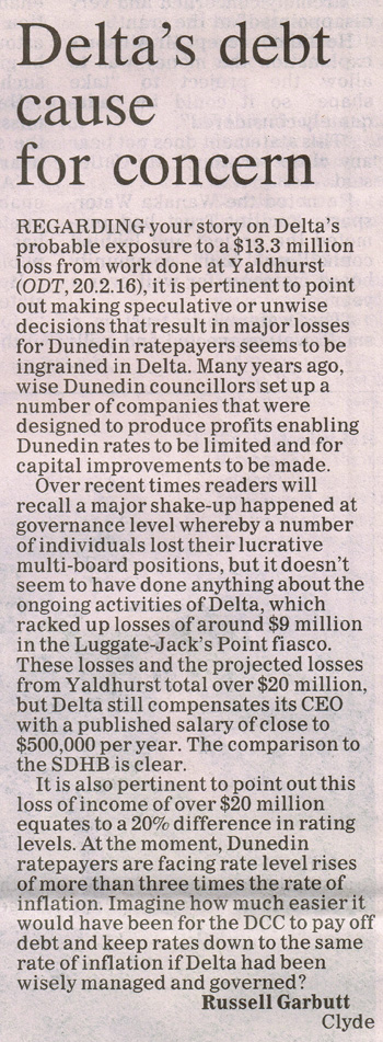 ODT 26.2.16 Letter to editor Garbutt p10 (1)