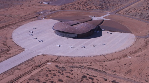 Spaceport America [via forbes.com]