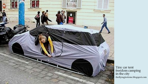 tiny-car-tent-freedom-camping-in-the-city [theflyingtortoise.blogspot.com]