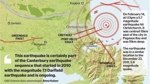 Valentines Day quake at CHC 14.2.16 [GNS info via Stuff.co.nz]