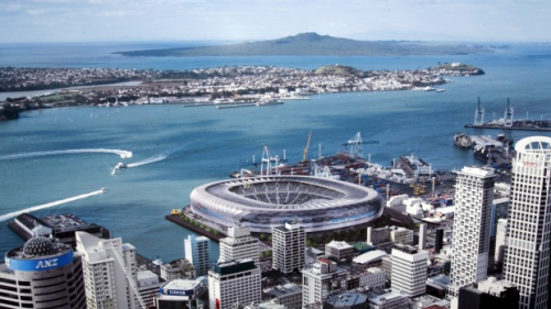 Auckland 2006 proposed waterfront stadium [David White - Fairfax via Stuff.co.nz]