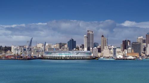 Auckland 2006 proposed waterfront stadium [Nigel Marple - Fairfax via Stuff.co.nz]