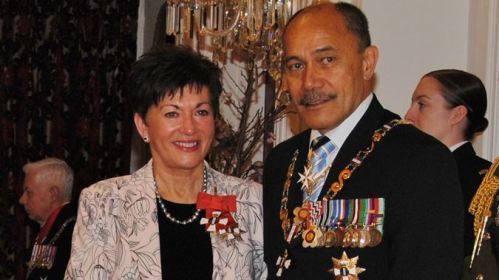 Dame Patsy Reddy with Sir Jerry Mateparae [newstalkzb.co.nz]
