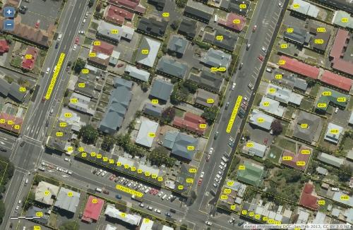 DCC Webmap - 598 Castle Street, Dunedin JanFeb2013