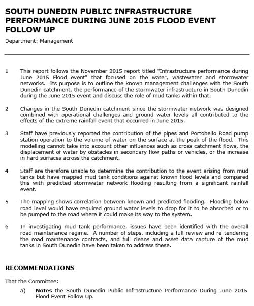 DCC Flood Report 2 (2016) excerpt