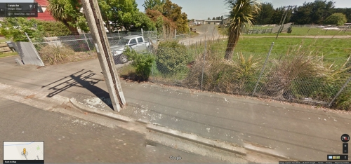 Google Street View - 80 Carlyle Road, Mosgiel Nov 2012 [DCC utility vehicle pictured]