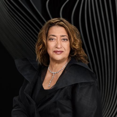 Zaha Hadid by Mary McCartney [dezeen.com] 1