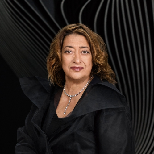 Zaha Hadid by Mary McCartney [dezeen.com] 1